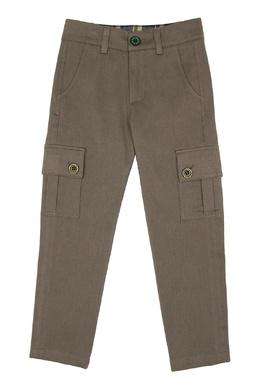 Коричневые брюки с карманами #MumOfSix 2642111039