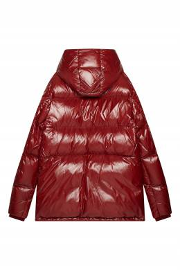 Красный пуховик Apremont Moncler 34109953