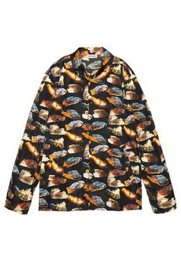 Верхняя рубашка с разноцветным мотивом Palm Angels 1864110100