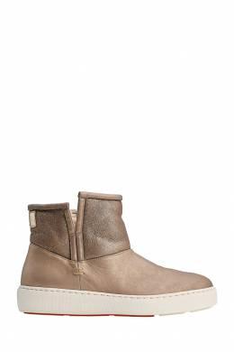 Ботинки из овчины Santoni 1165111093
