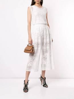 Dolce & Gabbana - блузка с вышивкой E8ZHHMBD935908050000