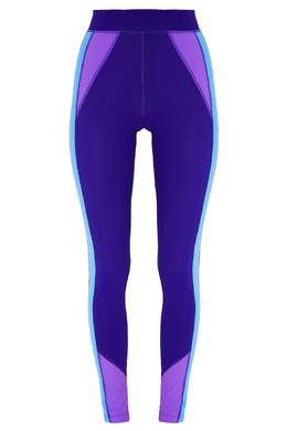 Фиолетовые леггинсы с голубыми лампасами Isabel Marant 140111182