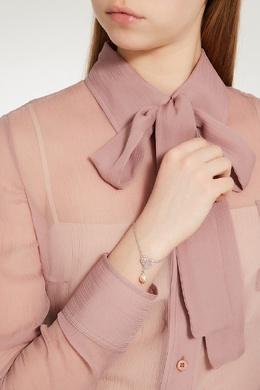 Серебряный браслет с сердцем Miu Miu 375111610