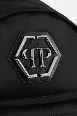 Черный рюкзак с логотипом Philipp Plein 1795113430