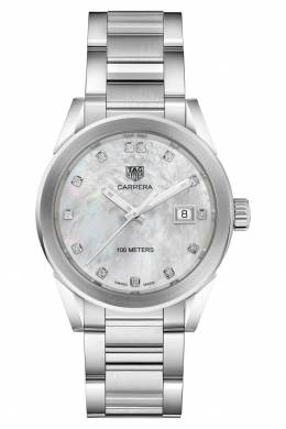 CARRERA Кварцевые женские часы с белым циферблатом Tag Heuer 2849115469