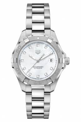 AQUARACER Calibre 9 Автоматические женские часы с перламутровым циферблатом Tag Heuer 2849115477