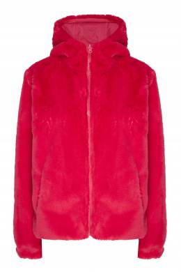 Розовая куртка из экомеха P.a.r.o.s.h. 393116981
