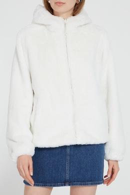 Белая куртка из экомеха P.a.r.o.s.h. 393116946