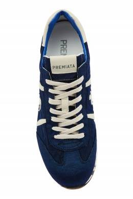 Бело-синие кроссовки Lucy Premiata 827117439