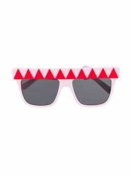 Stella McCartney Kids - солнцезащитные очки с геометричным орнаментом 659S9385363900000000