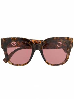 Fendi Eyewear солнцезащитные очки оверсайз FF0359GS