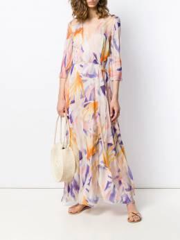 Forte Forte - платье с запахом и принтом 6MYDRESS938636950000