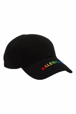 Черная кепка с логотипом Balenciaga 397119350
