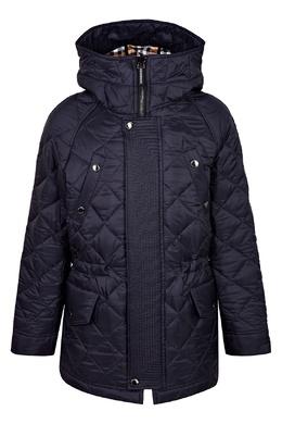 Синяя куртка Burberry Kids 1253120117