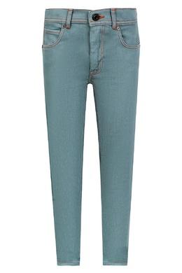 Светло-синие джинсы Burberry Kids 1253120484