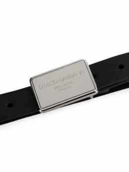 Dolce & Gabbana Kids ремень с пряжкой EC0047AS003