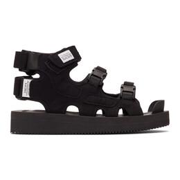 Suicoke Black BOAK-V Sandals OG-086V / BOAK-V