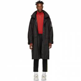 Moncler Genius 2 Moncler 1952 Black Greg Long Coat 191171M17600104GB