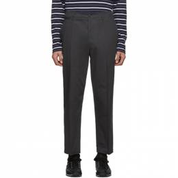 Lemaire Grey Twill Chino Trousers M 191 PA123 LF257