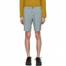Ps by Paul Smith Blue Cotton Shorts M2R-035R-A20311