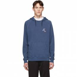 Ps by Paul Smith Blue Cycling Monkey Hoodie M2R-258T-AP1130
