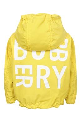Двухсторонняя куртка Burberry Kids 1253120883