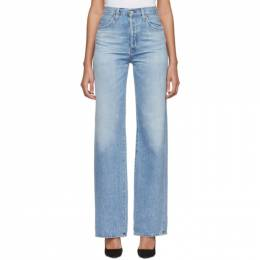 Citizens Of Humanity Blue Annina High-Rise Jeans 1746-1136