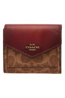 Компактный кошелек с монограммами Coach 2219118415