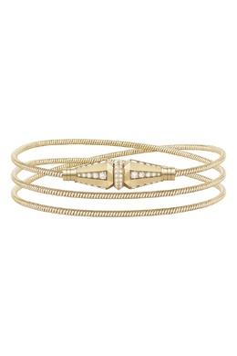 Колье/Браслет JACK DE Boucheron из желтого золота, 3 ряда с бриллиантами 2895120351