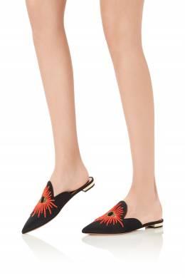 Мюли Mystic с вышивкой бисером Aquazzura 975122399