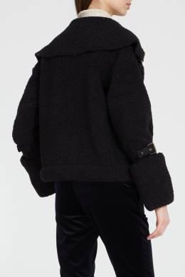 Короткая искусственная дубленка Elisabetta Franchi 1732122185