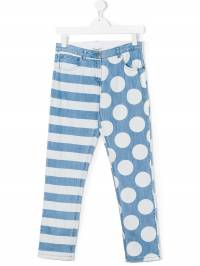 Stella McCartney Kids - джинсы 'Lohan Stripes&Dots' 838SKK53506690655665