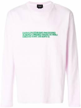 Calvin Klein 205W39nyc футболка с логотипом 81MWTA86C182