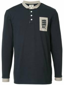 Kent & Curwen рубашка-поло с длинными рукавами K37I7ER040