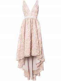 Zac Zac Posen - платье на бретельках с асимметричным подолом 93355309083806600000