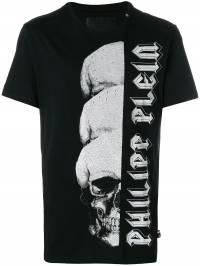 Philipp Plein - футболка 'Cosmic' с принтом 0955PJY660N908983590