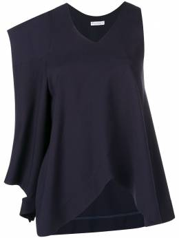 J.W. Anderson асимметричная блузка с накладным карманом TP04019A218888