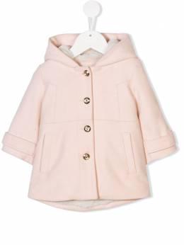 Chloé Kids - faux fur lined coat 68353893939566000000