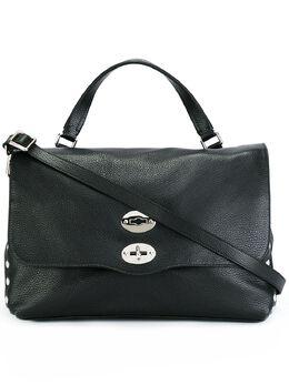 Zanellato сумка-тоут с заклепками 613118