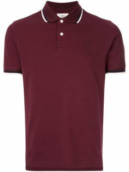 Kent & Curwen рубашка-поло с контрастной отделкой K39H9TM030