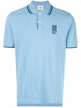 Kent & Curwen рубашка-поло с вышивкой K39H9TM090