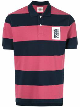 Kent & Curwen рубашка-поло в полоску 'Miller' K39H9TR020