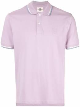 Kent & Curwen рубашка-поло с контрастной отделкой K39H9TR010