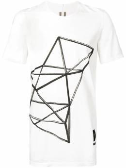 Rick Owens DRKSHDW футболка с принтом DU19S4250RNES4