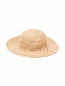 Chloé Kids - шляпа из рафии 966Z5693690355000000