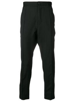 Z Zegna - брюки строгого кроя со складками 6053336C093353360000