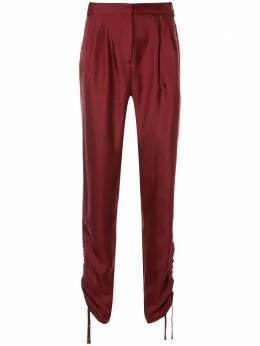 Tibi - брюки Mendini со сборками 8MT36959385598900000