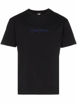 Yohji Yamamoto футболка с логотипом HHT98075