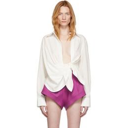 Jacquemus Off-White La Chemise Bahia Shirt 191553F10701003GB