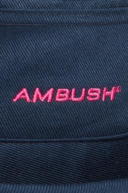 Синяя панама с вышивкой Ambush 1782127562